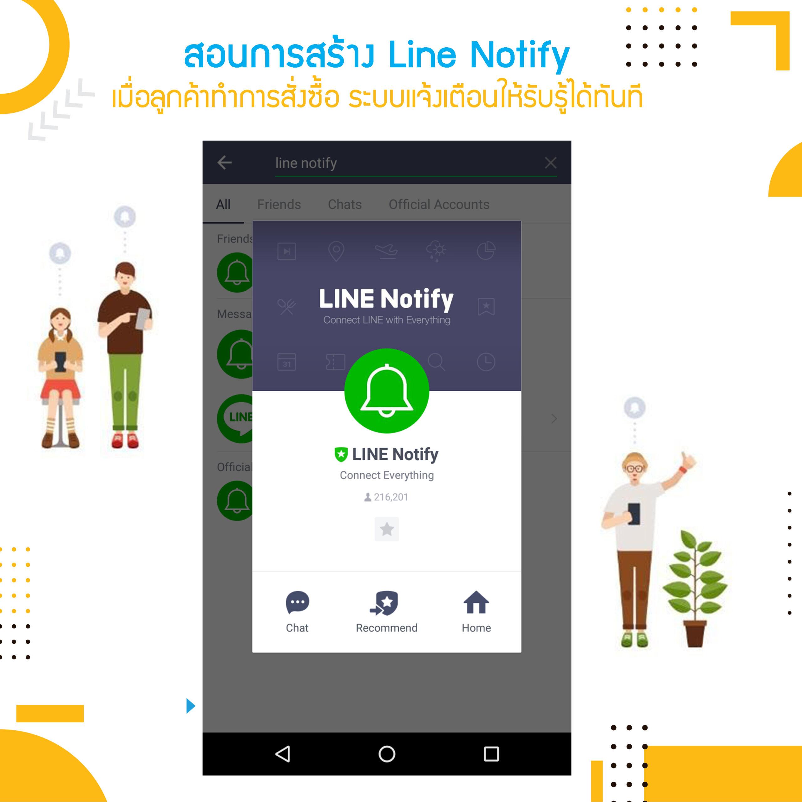 สอนการสร้าง Line Notify เป็นของตัวเอง